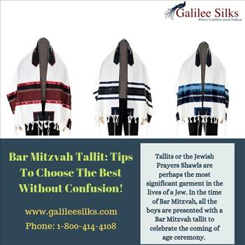 Bar Mitzvah Tallit Tips To Choose The Best Without Confusion! by amramrafi