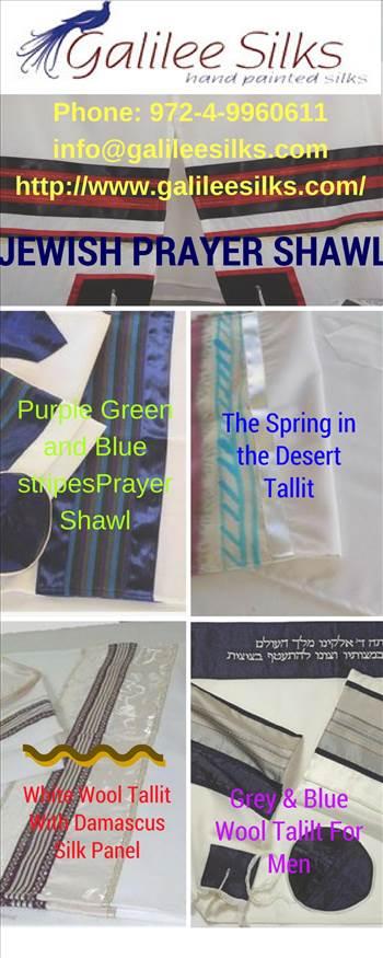 Buy Jewish prayer shawl only at Galileesilks.com.jpg by amramrafi