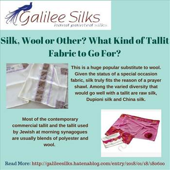 Silk, Wool or Other What Kind of Tallit Fabric to Go For.jpg -