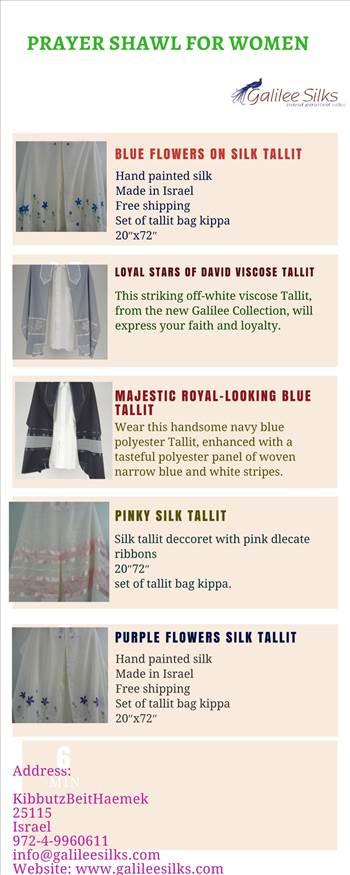 Excellent design of Prayer shawl for women at galileesilks.jpg -