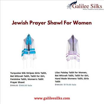 Jewish prayer shawl for women by amramrafi