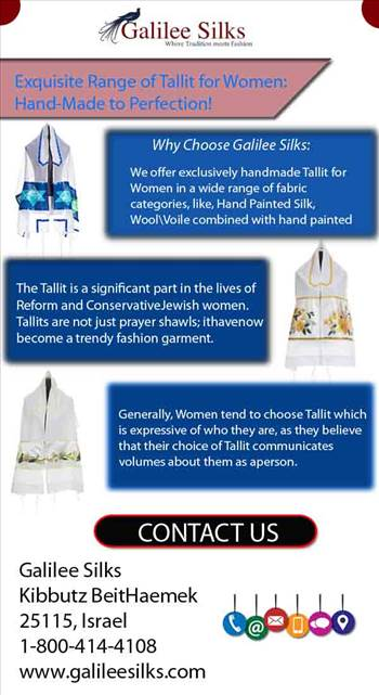 Exquisite Range of Tallit for Women Hand-Made to Perfection.jpg by amramrafi