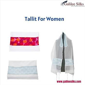 Tallit for women - Tallit for women used to evoke a lot of controversy in earlier days. But in modern times, they have become a trending fashion and Jewish women around just love wearing them. For more details, visit: https://bit.ly/2XeyPXw