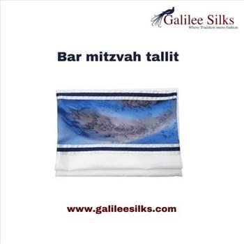 Bar mitzvah tallit by amramrafi