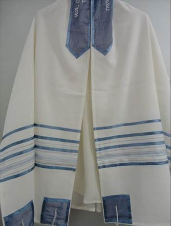 Bar mitzvah tallit by amramrafi