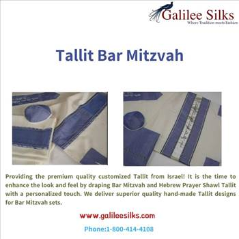 Tallit bar mitzvah by amramrafi