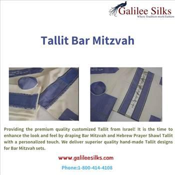 Tallit bar mitzvah by amramrafi
