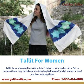 Tallit for women by amramrafi