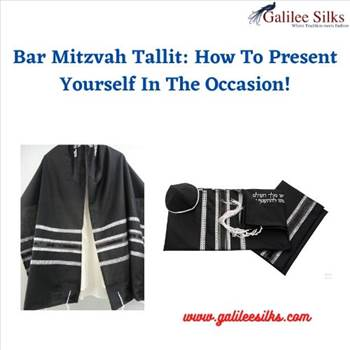 Bar Mitzvah Tallit: How To Present Yourself In The Occasion! by amramrafi
