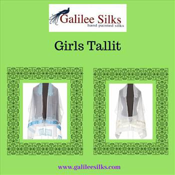 girls tallit.gif - Visit us at galileesilks and check out the first ever designer Bat-Mitzva Tallit which is exclusively crafted for girls in affordable prices. For more details, visit: https://www.galileesilks.com/category/catalog/tallit/tallit-for-girls/