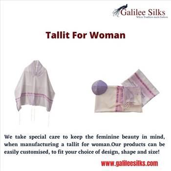Tallit for woman by amramrafi