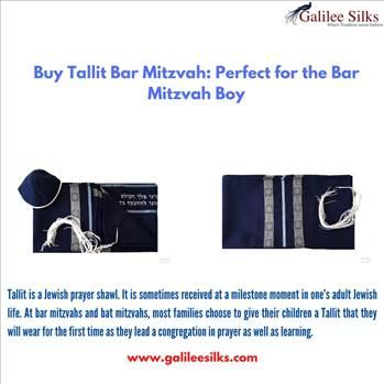 Buy Tallit Bar Mitzvah: Perfect for the Bar Mitzvah Boy by amramrafi