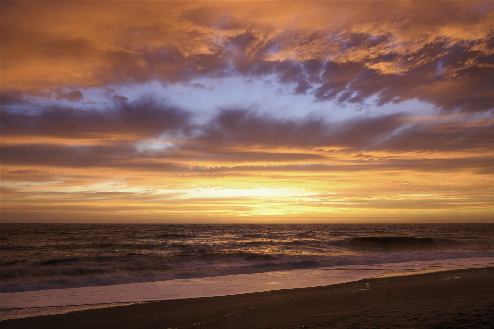 Pacific Ocean Sunset  by Dawn Jefferson