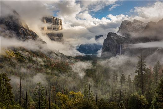 Clearing Storm Yosemite by Dawn Jefferson