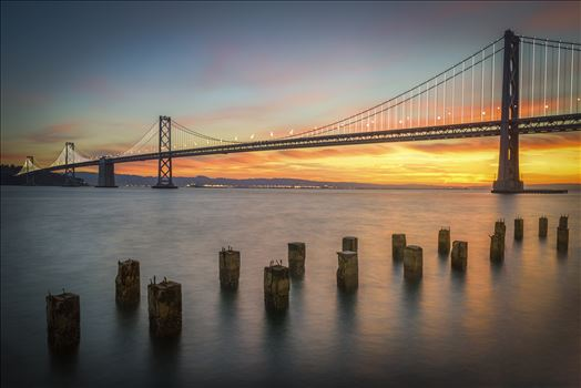 Bay Bridge Sunrise by Dawn Jefferson