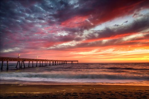 Pacifica Sunset by Dawn Jefferson