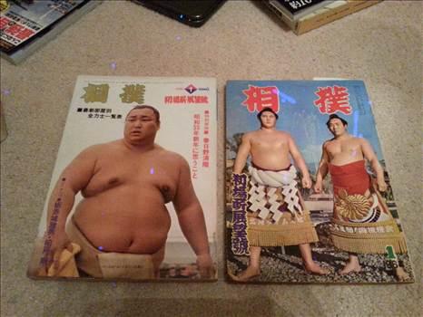 Sumo magazines by Mukonoso