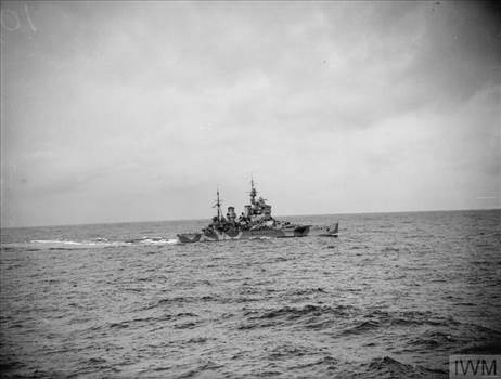 KGV at sea Oct42 IWM A 12336.jpg by jamieduff1981