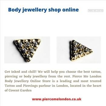 Body jewellery shop online by Piercemelondon