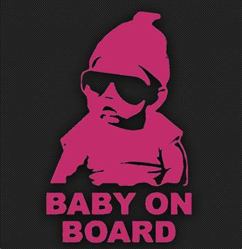baby on board pink.jpg by Michael