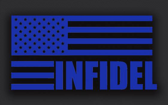 infidel_flag_blue.jpg by Michael
