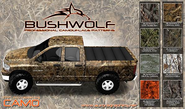 Bushwolf-Camo-Poster.jpg by Michael