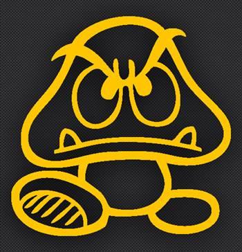 goomba_yellow.jpg by Michael