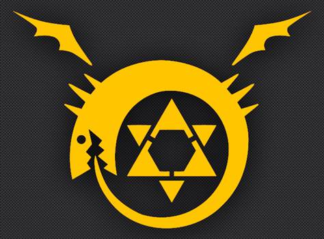 fullmetal_oroboros_yellow.jpg by Michael
