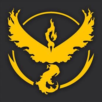PokemonGO-Team-Logos-Valor yellow.jpg by Michael