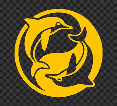 dolphin_yinyang_yellow.jpg by Michael