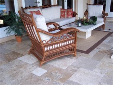 Get Eco-Friendly French Pattern Travertine Paver From Stone-Mart by stonemart
