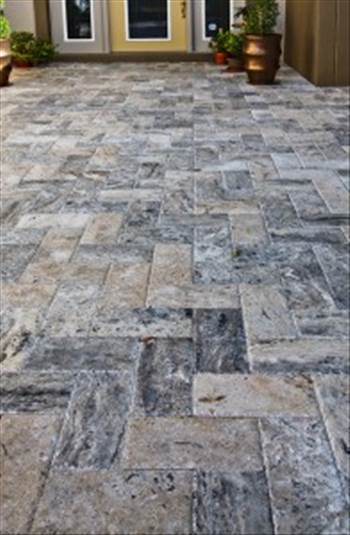 Add A Surprising Beauty To Your Pool Using Marble Pavers From Stone-Mart by stonemart