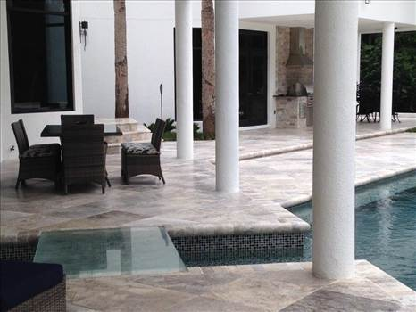 Marble Silver Pavers Available At Stone-Mart Adds Startling Beauty To Your Pool by stonemart