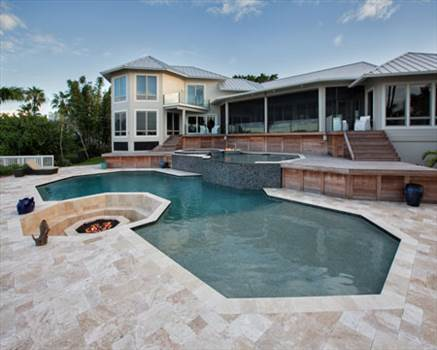 First Quality French Pattern Pool Deck At Unbeatable Price From Stone-Mart. by stonemart