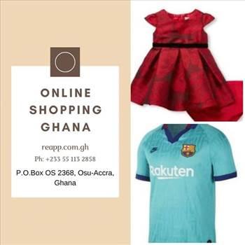 Online shopping ghana by Reapp