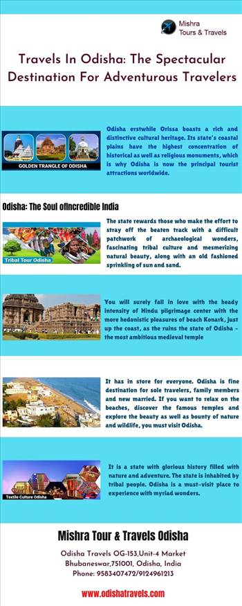 Travels In Odisha: The Spectacular Destination For Adventurous Travelers by Odishatravels