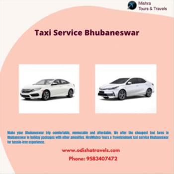 Taxi service Bhubaneswar by Odishatravels