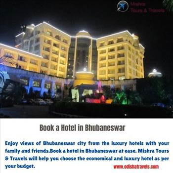 Book a Hotel in Bhubaneswar by Odishatravels