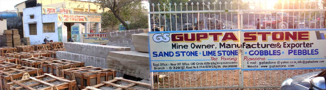 Gupta Sandstones from India by guptastone