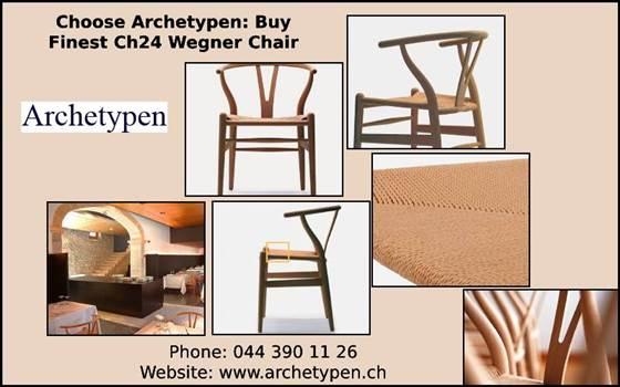 Choose Archetypen Buy Finest Ch24 Wegner Chair.jpg by archetypen