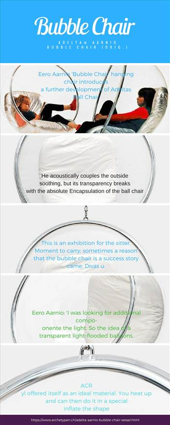 Bubble chair for sale.jpg - The contemporary-styled hanging Eero Aarnio's Bubble Chair is great for indoor as well as outdoor use. Your experience of space will never be the same as you let brilliant reality shine in all directions.