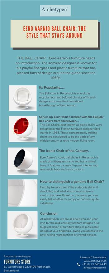 Eero Aarnio Ball Chair: The Style that Stays Around by archetypen
