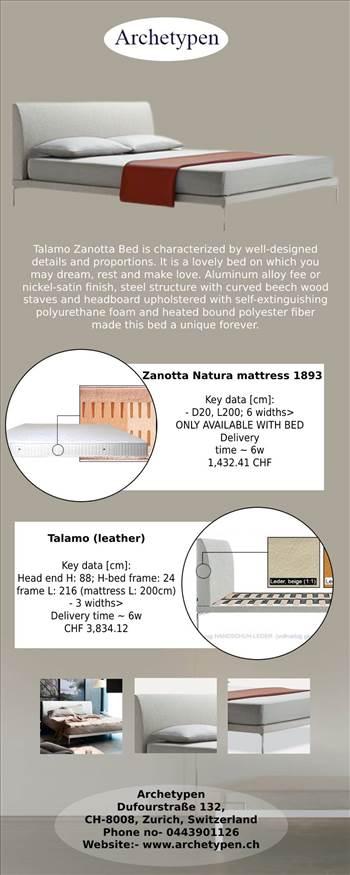 Buy Original Talamo Zanotta Bed - Online Store of Archetypen.jpg by archetypen