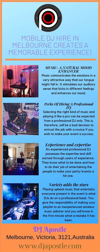 Mobile DJ Hire in Melbourne creates a memorable experience!.jpg by djapostle