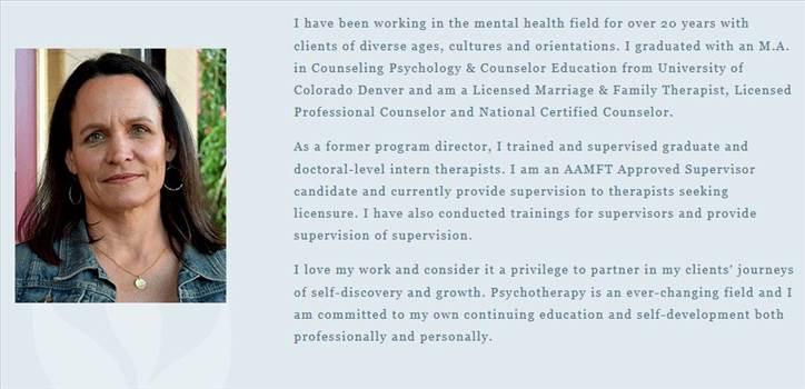 Psychotherapist Denver by JlcTherapy