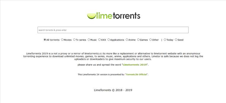 The torrents that you down load from LimeTorrents aren't only actual and confirmed, but also offer a totally speedy pace download. Visit More- https://www.postinweb.com/limetorrents-alternative-mirror-proxy-working-sites-to-unblock-limetorrents-cc/