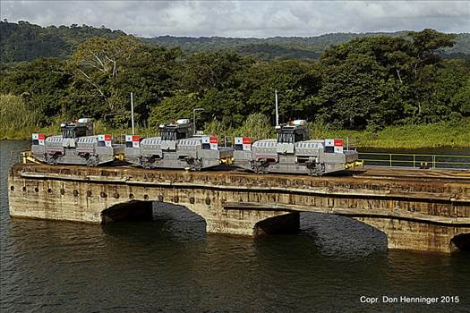 Panama Canal Mules #3 by WPC-360
