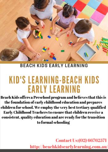 Kid's Learning-Beach Kids Early Learning.png by beachkidsearlylearning