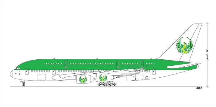 green phoenix klm style.png by dadofthree