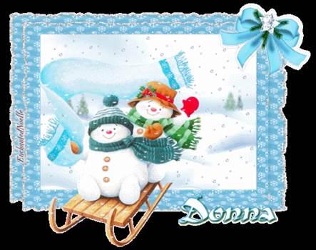 Donna_Snowmen_.gif by Donna Jackson